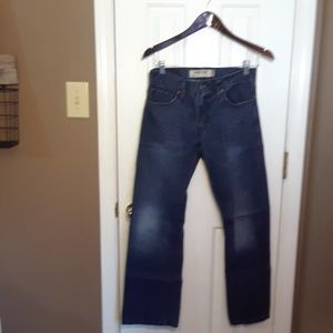 NWOT 29X30 LEVIS 527 LOW RISE SLIM BOOT